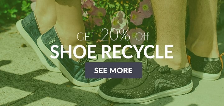 Get 20% off - Shoe Recycle
