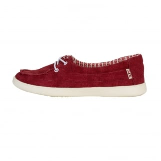 Ferrara Slip On Red