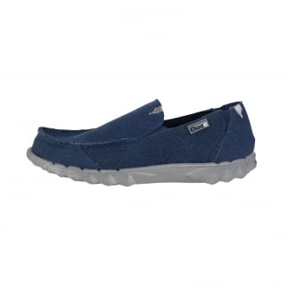 Farty Classic Sea Blue Slip On / Mule