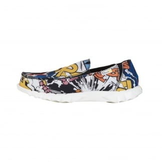 Farty Comic Slip On / Mule