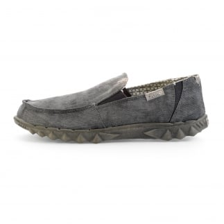 Farty 2 Canvas Convertible Slip On/Mule Grey