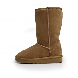 Dolomity Boot Toast Suede Slouch Boot
