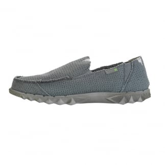 Farty Post Sport Perforated Canvas Grey