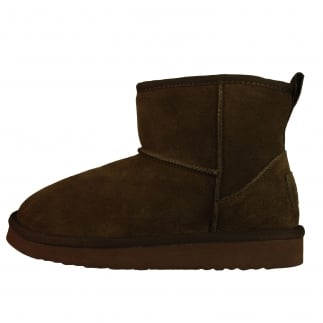 Sella Ladies Boot Coffee Suede