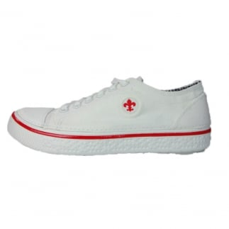 Firenze Lace Up Canvas Sneaker