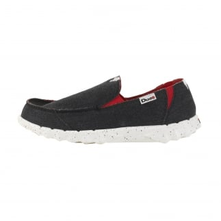 Farty Funk Black Red Slip On / Mule