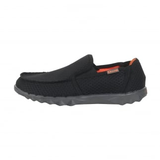 Farty Sox Mesh Black Slip On / Mule