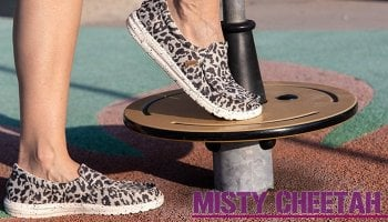 Womens Misty Cheetah