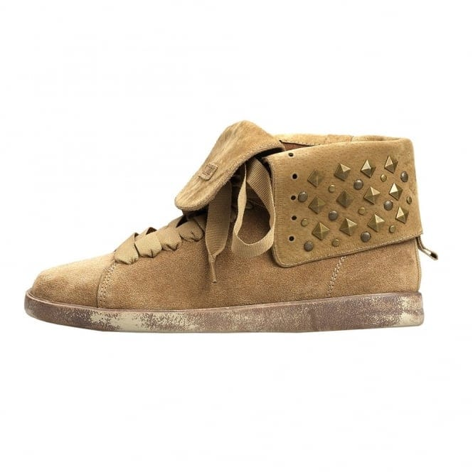 Dude Shoes La Thuile Suede Fold Down Baseball Boot
