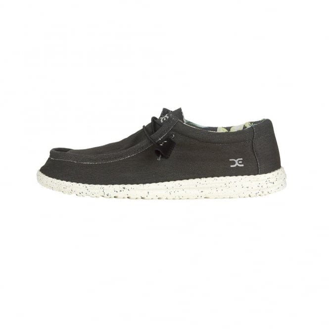 Dude Shoes Wally Stretch Black
