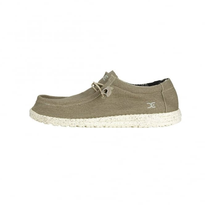 Dude Shoes Wally Stretch Beige