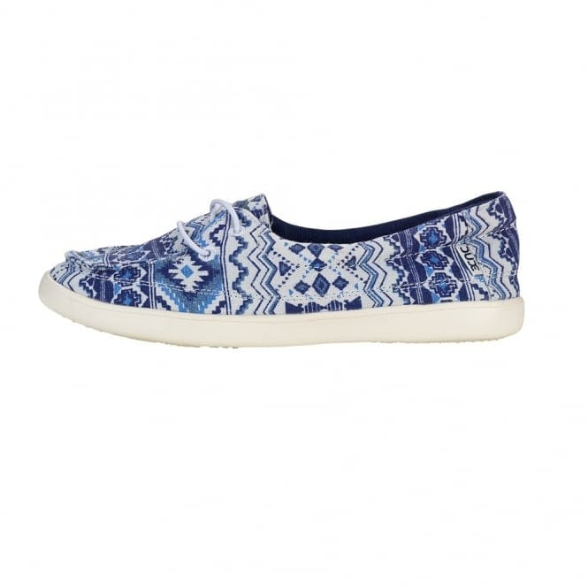 Dude Shoes Ferrara Slip On Incas Navy