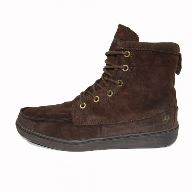 Dude Shoes Tucker Slouch Boot Oiled Suede