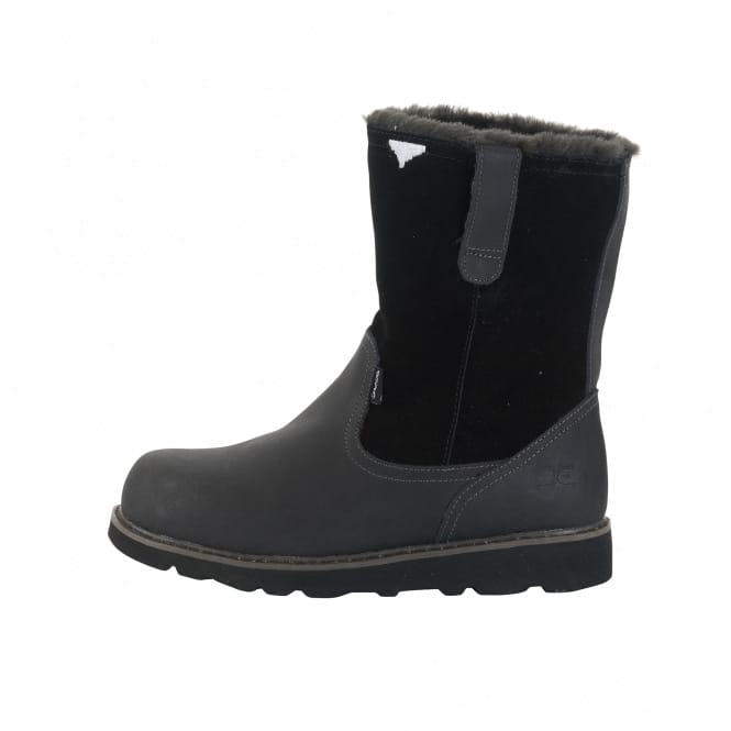 9af607699913 ... Dude Shoes Vigo Ladies Easy Life Black Leather. Tap image to zoom.  womans black fur lined winter boots