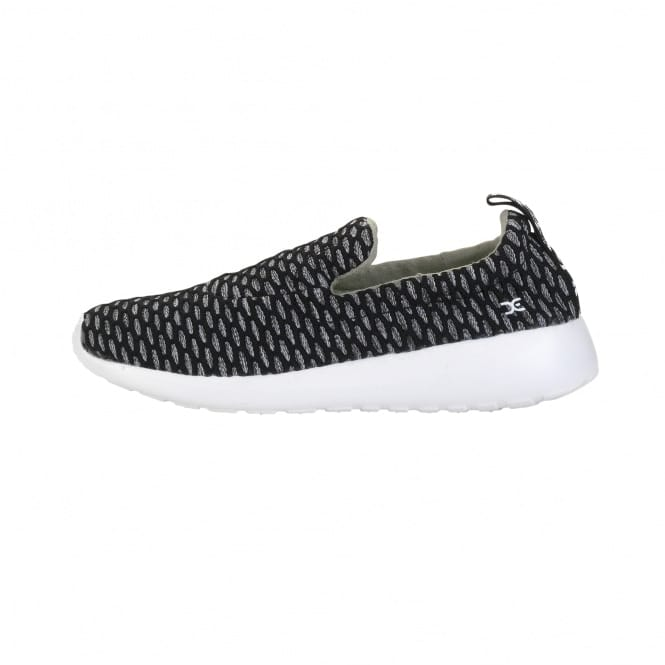 Dude Shoes Chloe Melange Black Slip On