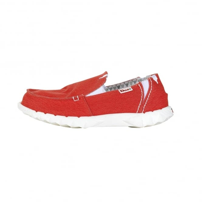 Dude Shoes Farty Stretch Red