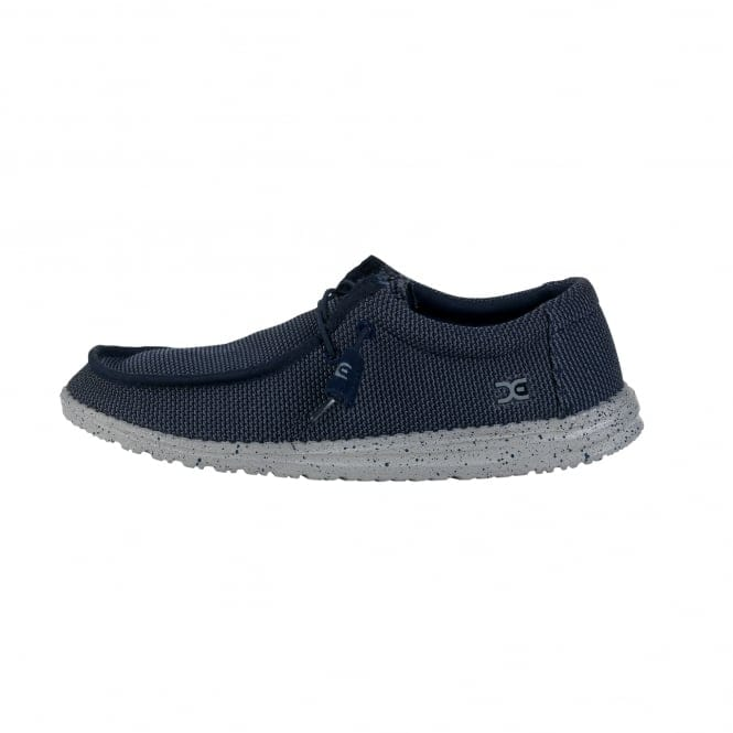 Dude Shoes Wally Mesh Navy