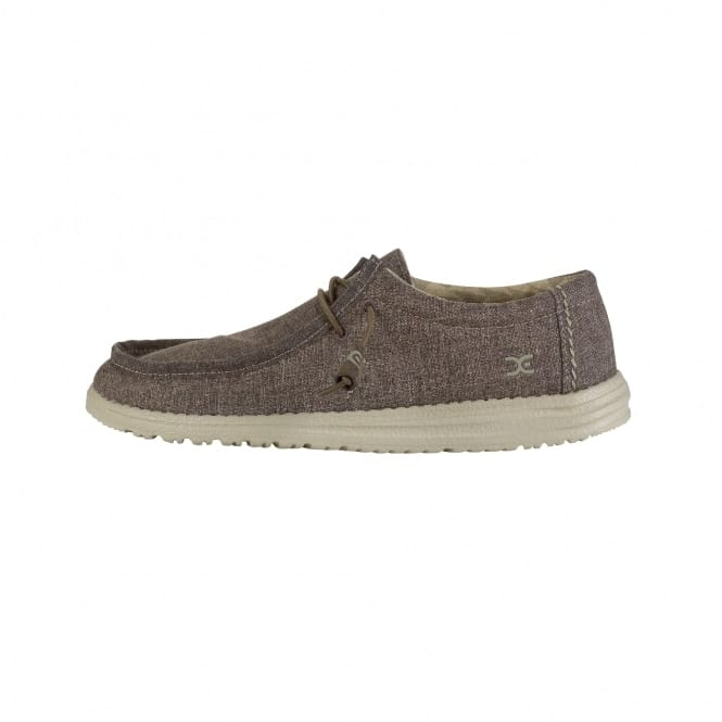 Dude Shoes Wally Linen Rope