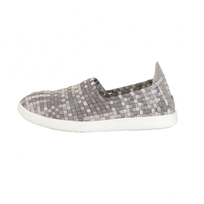 Dude Shoes E-last Simple Beige Fade Slip On