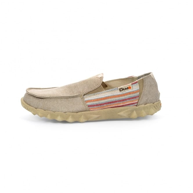 Dude Shoes Farty 2 Incas Beige Slip On / Mule