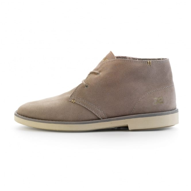Dude Shoes Torino Cement Suede Desert Boot