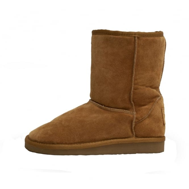 Dude Shoes Alpe Boot Toast Suede Slouch Boot