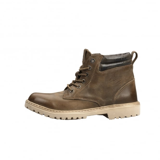 Dude Shoes Abetone Ladies Boot Dimgray Leather