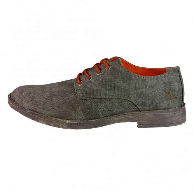Dude Shoes Volterra Canvas Brown