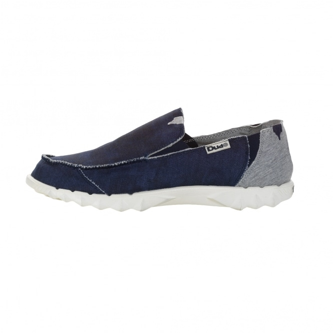 Dude Shoes Farty Funk Marine Slip On / Mule