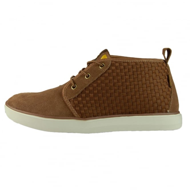 Dude Shoes Terni Brown Suede Chukka Boot