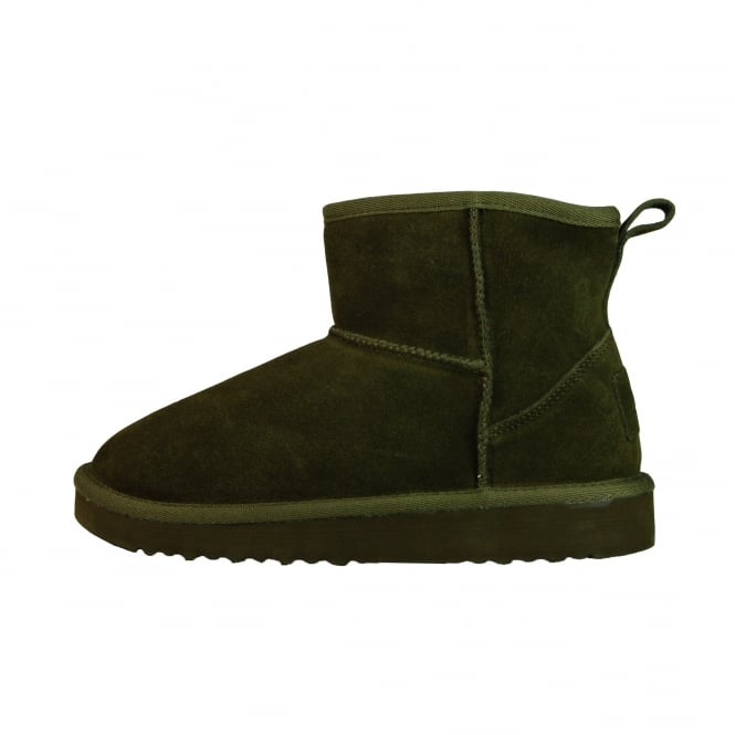 Dude Shoes Sella Ladies Boot Musk Suede