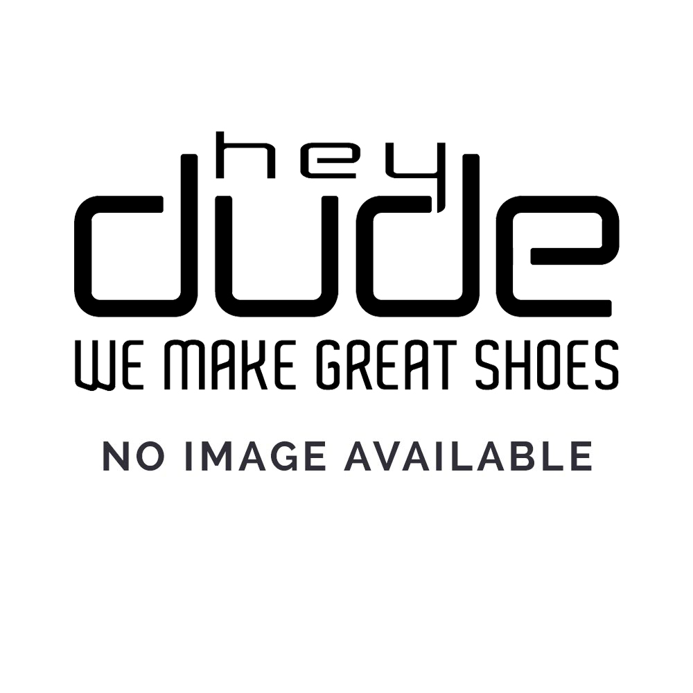 Dude Shoes Farty Classic Jet Black Slip On / Mule