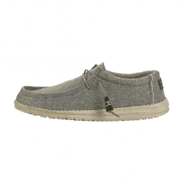 Dude Shoes Wally Linen Sage