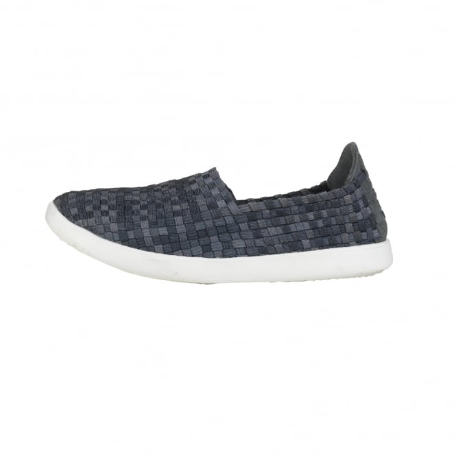 Dude Shoes E-Last Simple Carbon Fade Slip On