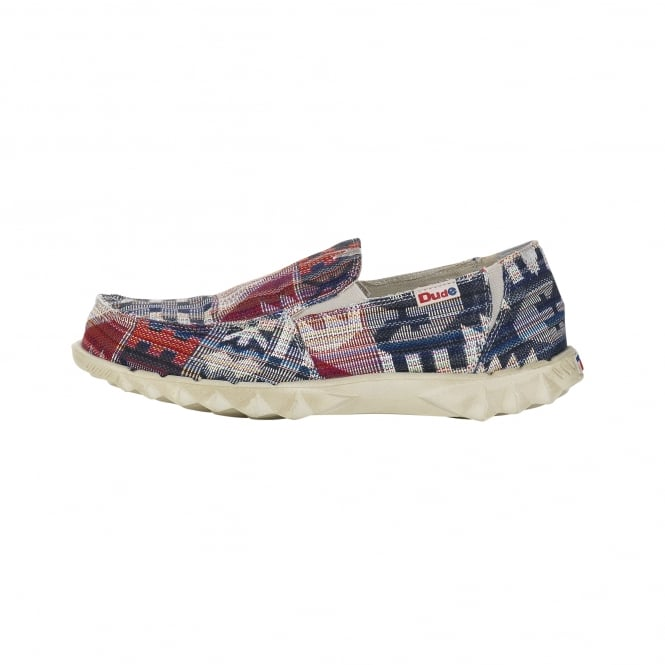 Dude Shoes Farty Youth Incas Red
