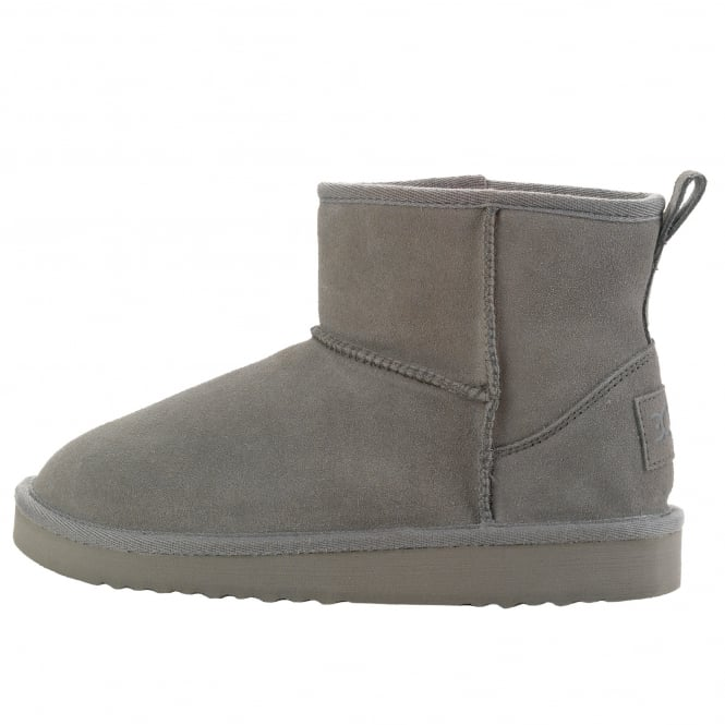 Dude Shoes Sella Ladies Boot Fume Suede