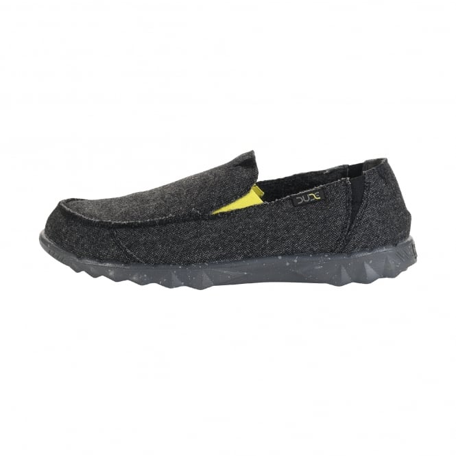 Dude Shoes Farty Wool Carbon