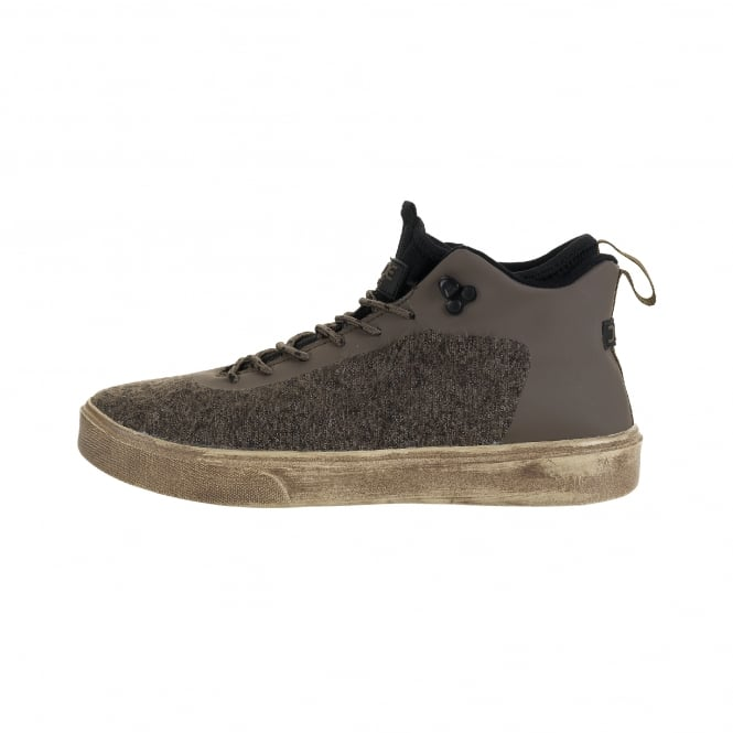 Dude Shoes Auris Wool Taupe Urban Hiker Boot