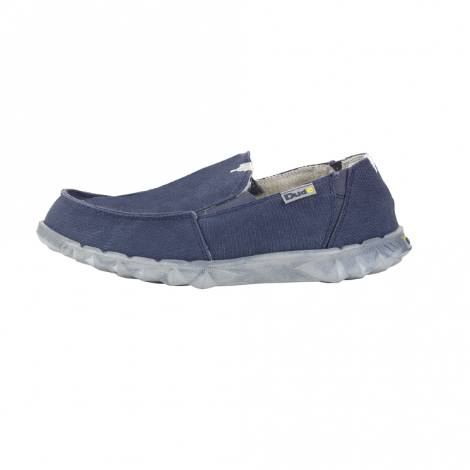 Dude Shoes Fur Lined Farty Chalet Blue