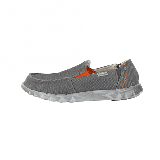 Dude Shoes Fur Lined Farty Chalet Funk Grey