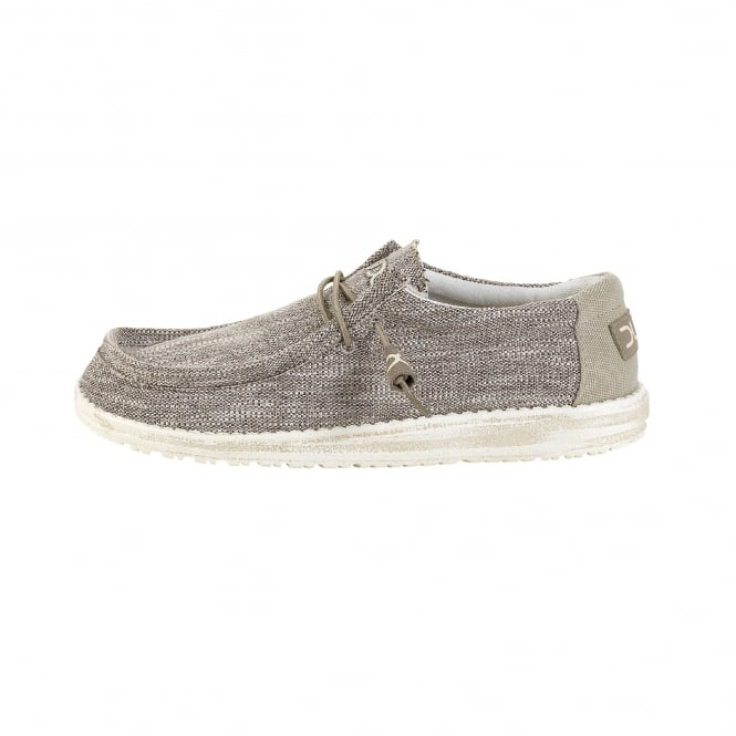 Dude Shoes Wally Woven Beige
