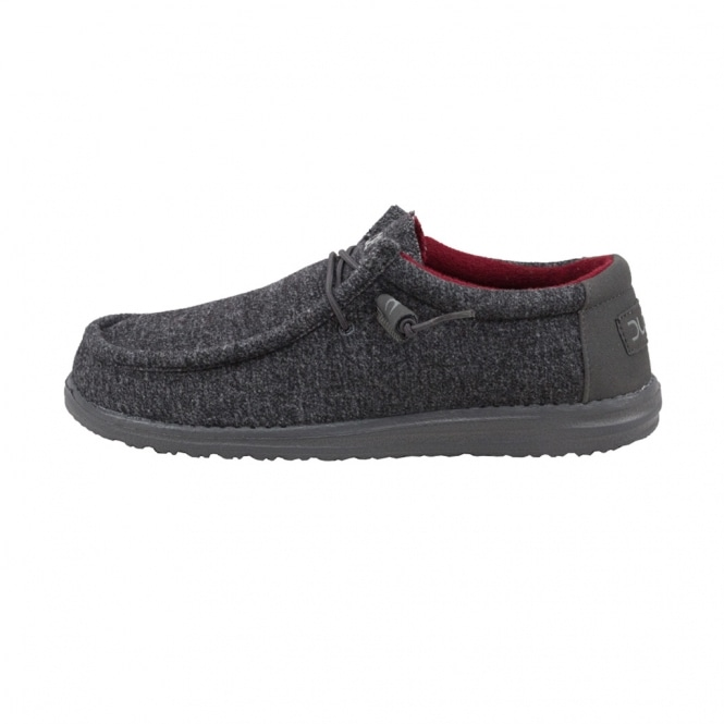 Dude Shoes Wally Wool Grafite