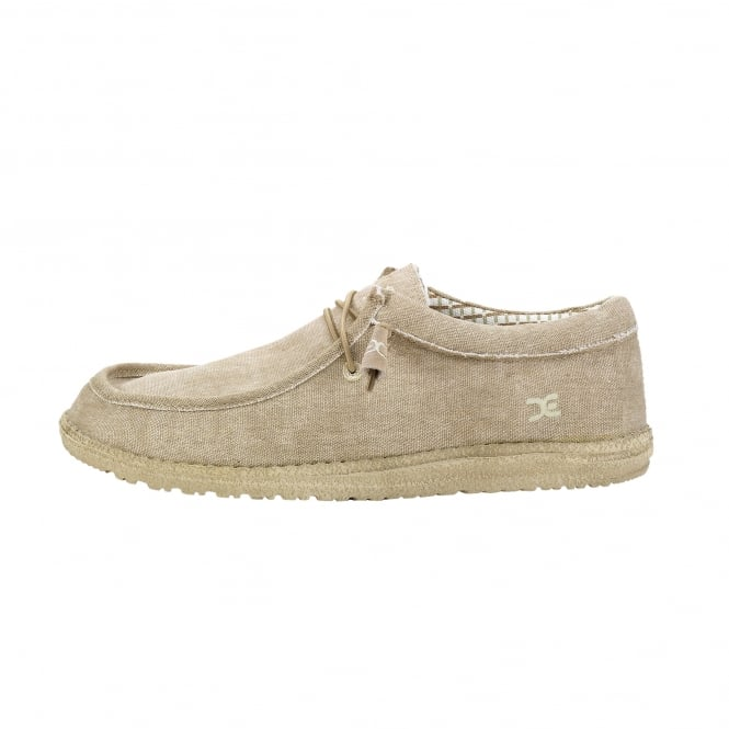 Dude Shoes Wally Classic Beige