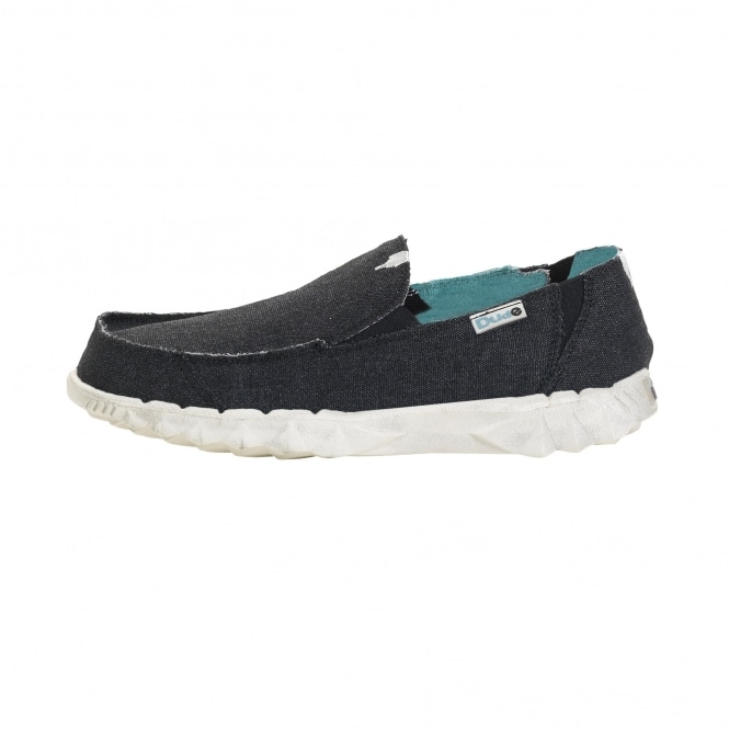 Dude Shoes Farty Youth Classic Jet Black