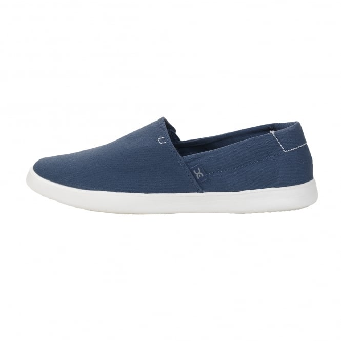 Dude Shoes Carly Steel Blue Slip On