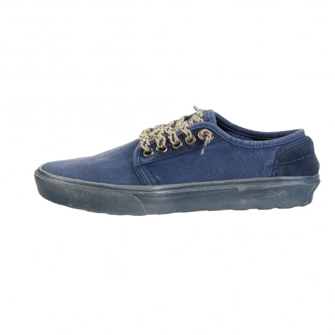 Dude Shoes Buster Washed Steel Blue