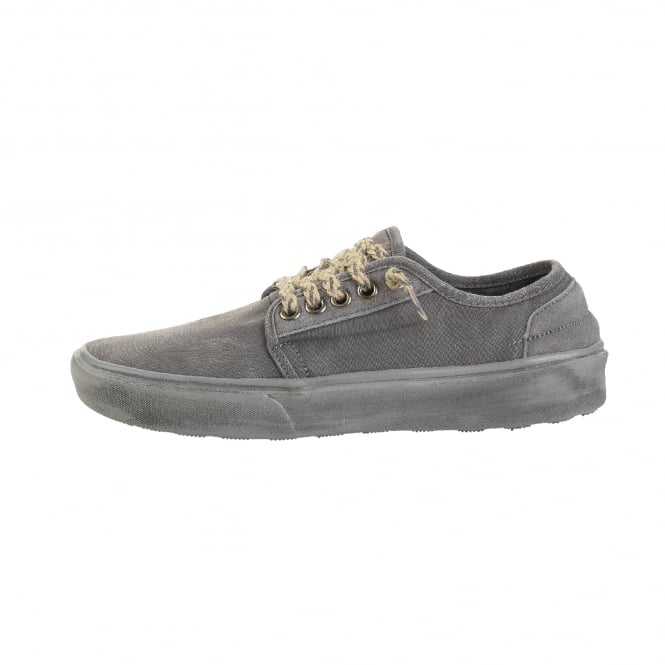 Dude Shoes Buster Washed Dark Grey