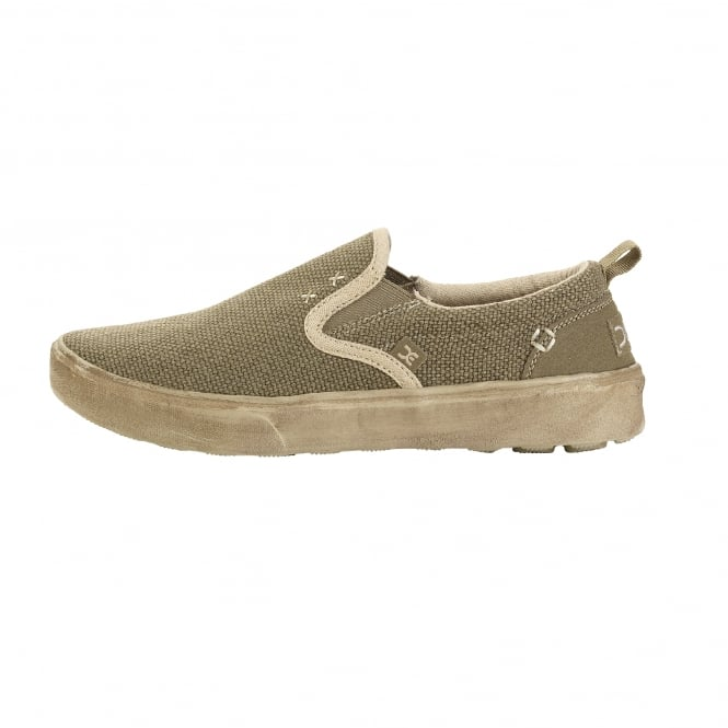 Dude Shoes Flip Natural Sage Slip On