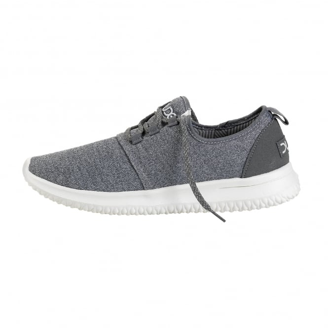 Dude Shoes Relay Sox Grey