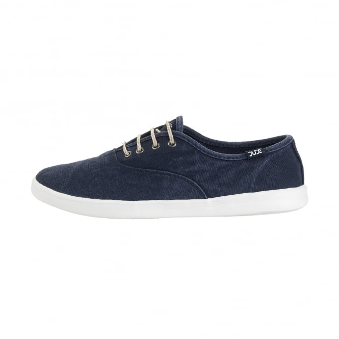 Dude Shoes Jenny Washed Navy Lace Up